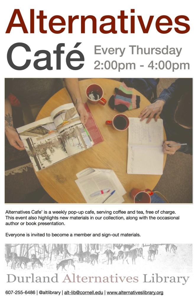 Alternatives Cafe Poster